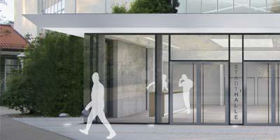 Foyererweiterung Stadthalle Schwabmünchen