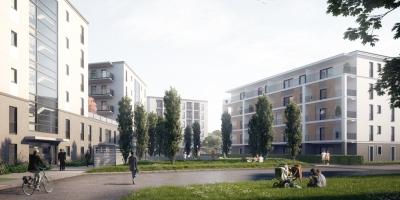 Wohnanlage Mittlerer Ladehof Augsburg